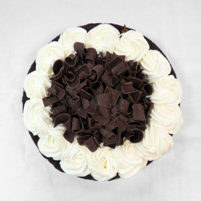 Double Chocolate Mousse Pie