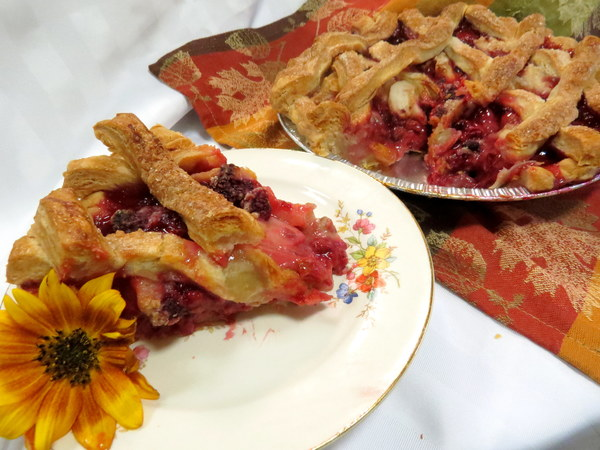 Pear Raspberry Lattice - Grateful Bites