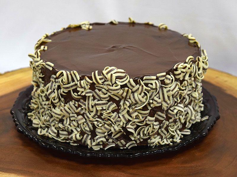 Chocolate Mousse Cake Menu Description